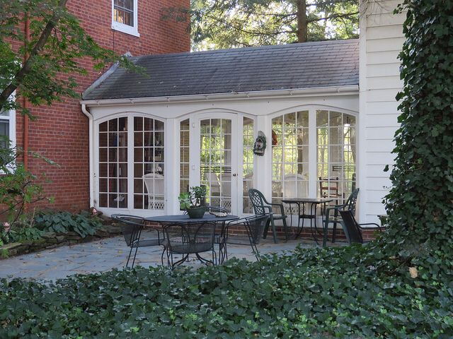 Covered Breezeway House With Porch Architecture House Exterior