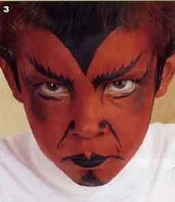 maquillage diable maquillaje demoniomaquillaje - Maquillaje Demonio