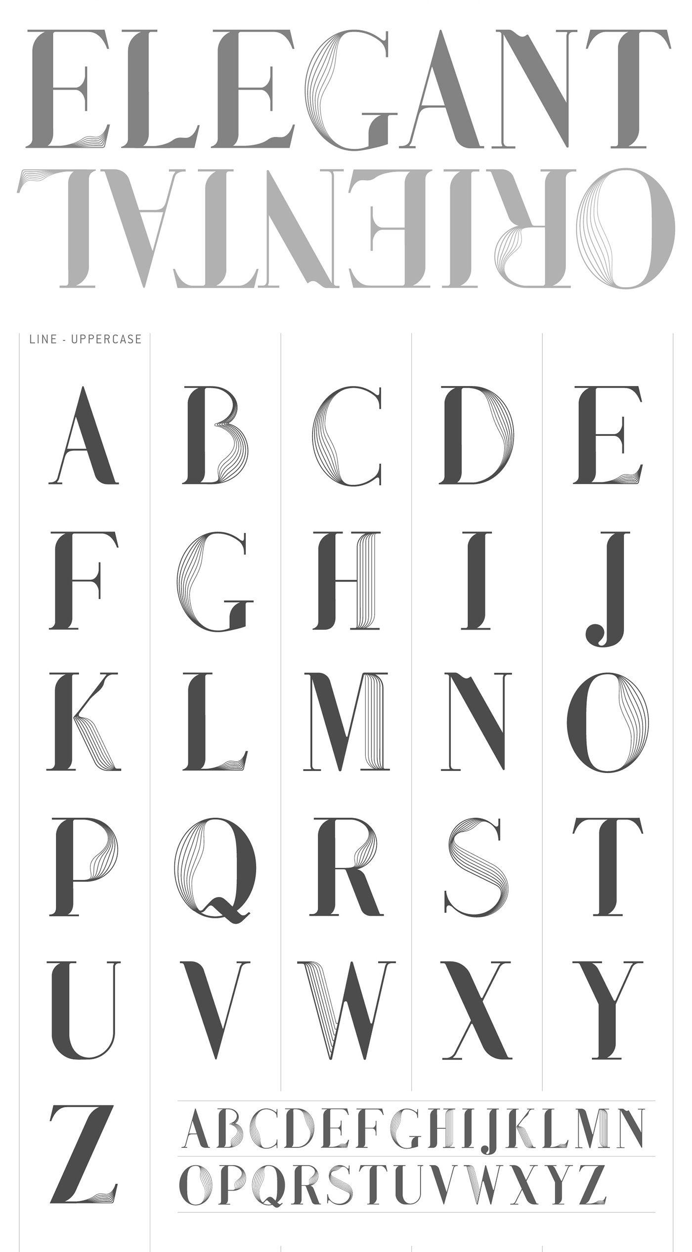 modern font styles