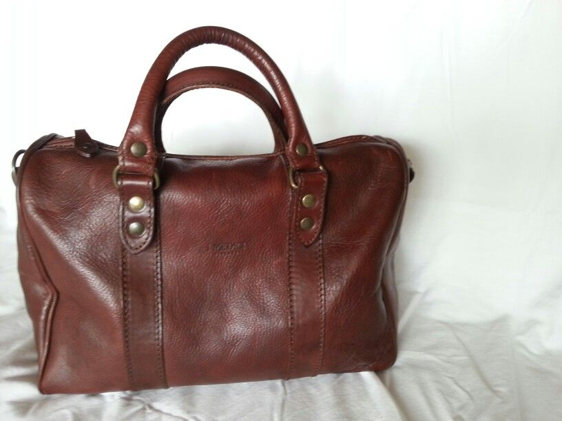 I Medici Leather Stuff Bag If Only It Had A Ger Brother