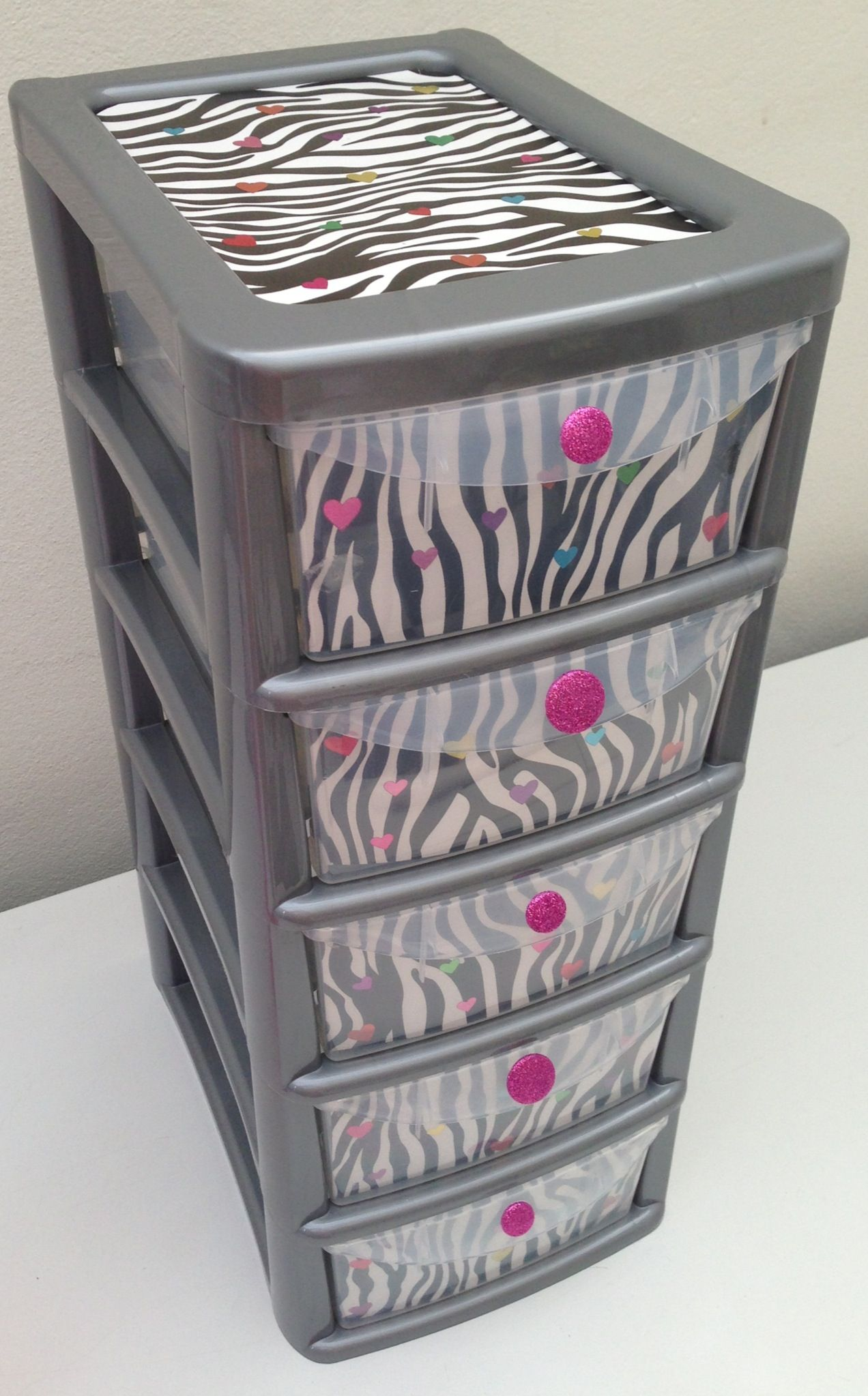 Upcycled plastic drawers organize pinterest plastic drawers