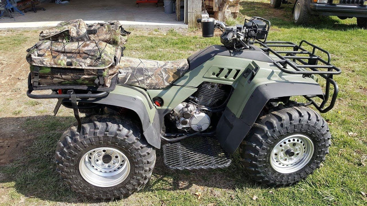 Fixing Up An Old Four Wheeler For Bugging Out Four Wheelers 4 Wheeler Wheeler