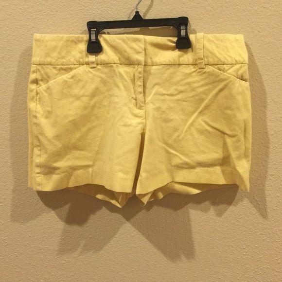 Ann Taylor signature yellow shorts Ann Taylor signature yellow shorts. I accept most offers. Ann Taylor Shorts