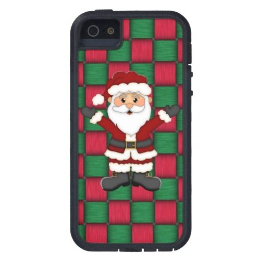 "Christmas Santa iPhone ""5 5s"" tough xtreme case Cover For iPhone 5 UP TO 60% OFF for CHRISTMAS IN JULY SALE! Use code JULYHOLIDAYZ at check out!Through 7/25/14"