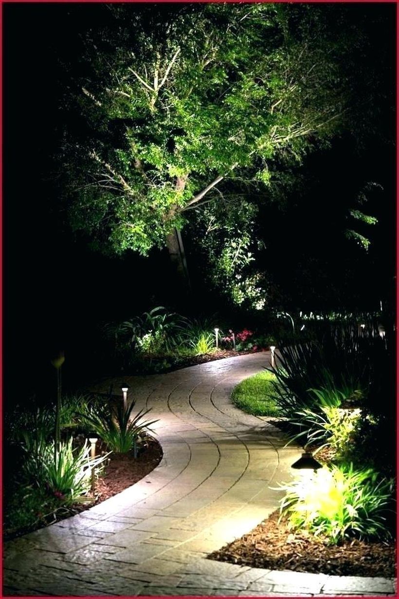 25 Small Backyard Landscaping Ideas On A Budget In 2020 Outdoor Landscape Lighting Garden Path Lighting Rustic Garden Lighting