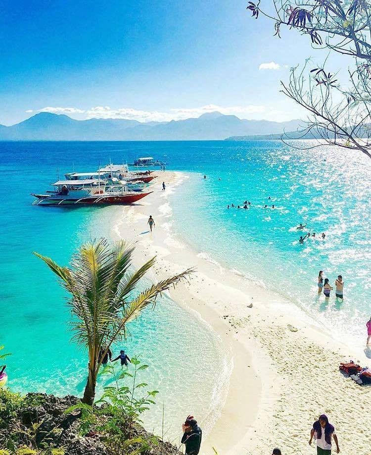 Check Out This Sandbar In Bluewater Sumilon Island Resort In Cebu Philippines Http Www