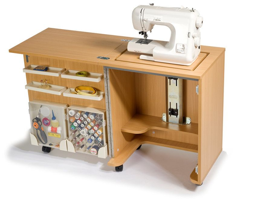 sewing machine table - Google Search - Sewing Machine Table - Google Search Space Saving Furniture