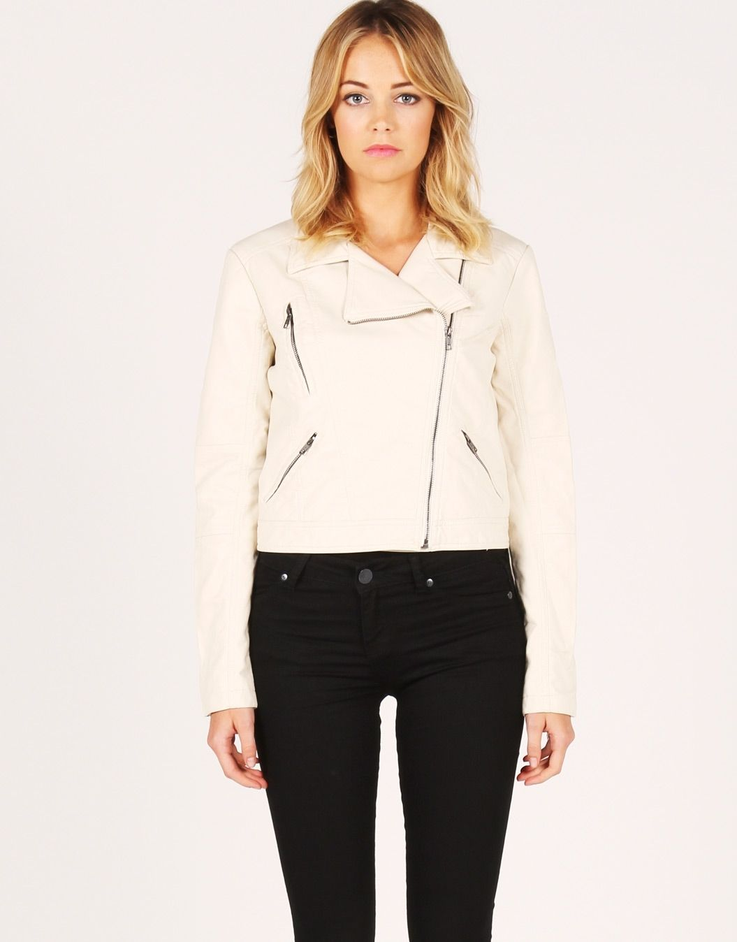 Glassons - Multi Zip Leather Look Jacket ... For ...