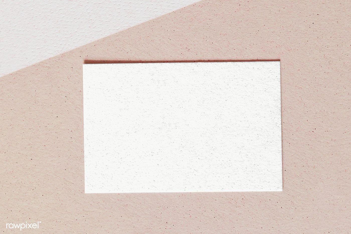 Blank Card Transparent Png Premium Image By Rawpixel Com Karolina Kaboompics Blank Cards Business Card Design Minimal Blue Business Card