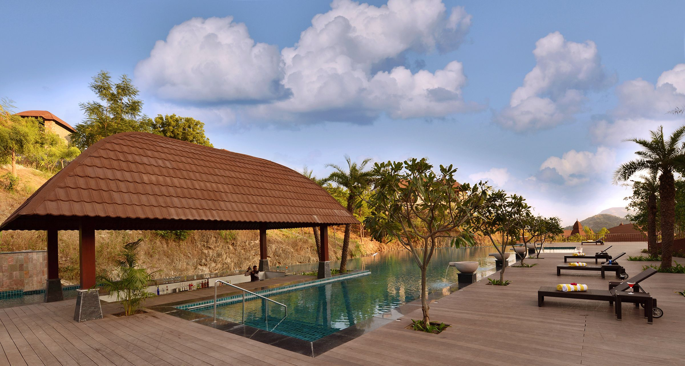 Mornings Glow With Attractive Calm And Serenity At Ananta Spa