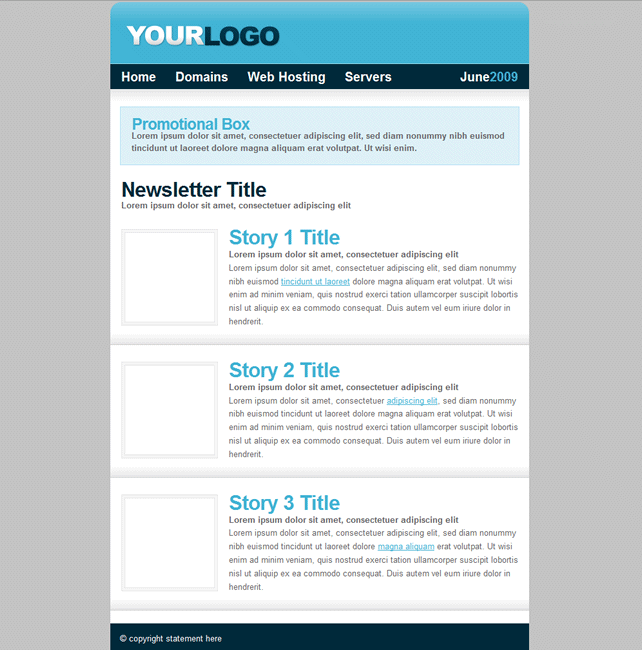 Newsletter Template: http://www.heartinternet.co.uk/reseller ...