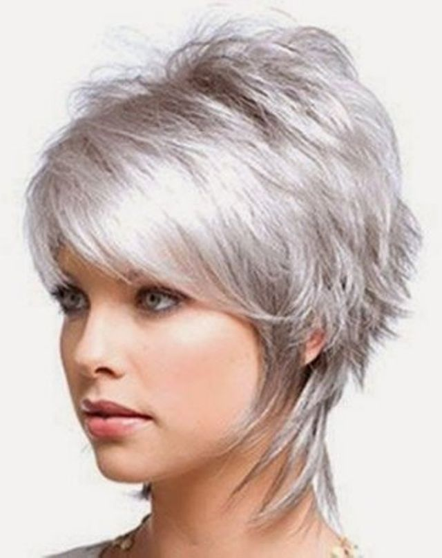 25 Short Hairstyles for Fine Hair To Try This Year - Short Shag ...