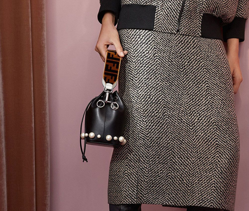 f1a67366bace Fendi Sticks Mostly to Recent Favorites for Its Brand New Resort 2018 Bags  - PurseBlog