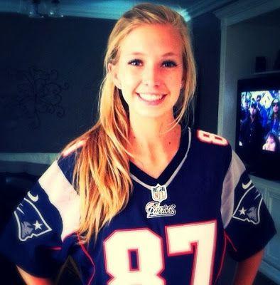 gronkowski jersey girl