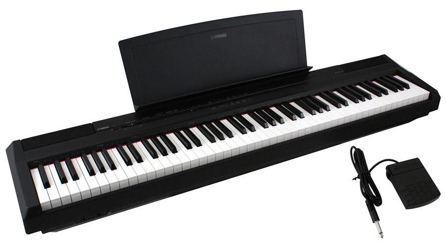 yamaha p 105 88 note digital piano the purecf sound engine recreates the sound of yamaha 39 s. Black Bedroom Furniture Sets. Home Design Ideas