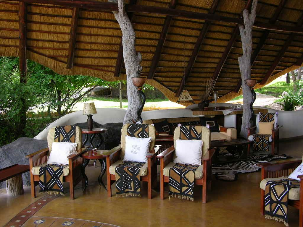 lounge of sango lodge zimbabwe home decor pinterest
