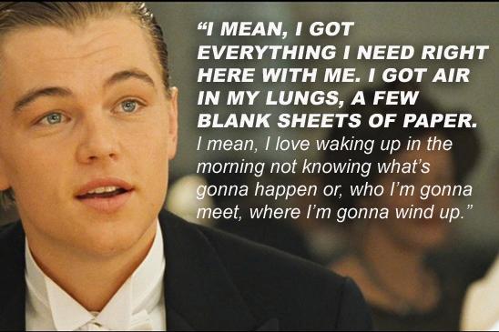 Leonardo Dicaprio Titanic Quotes