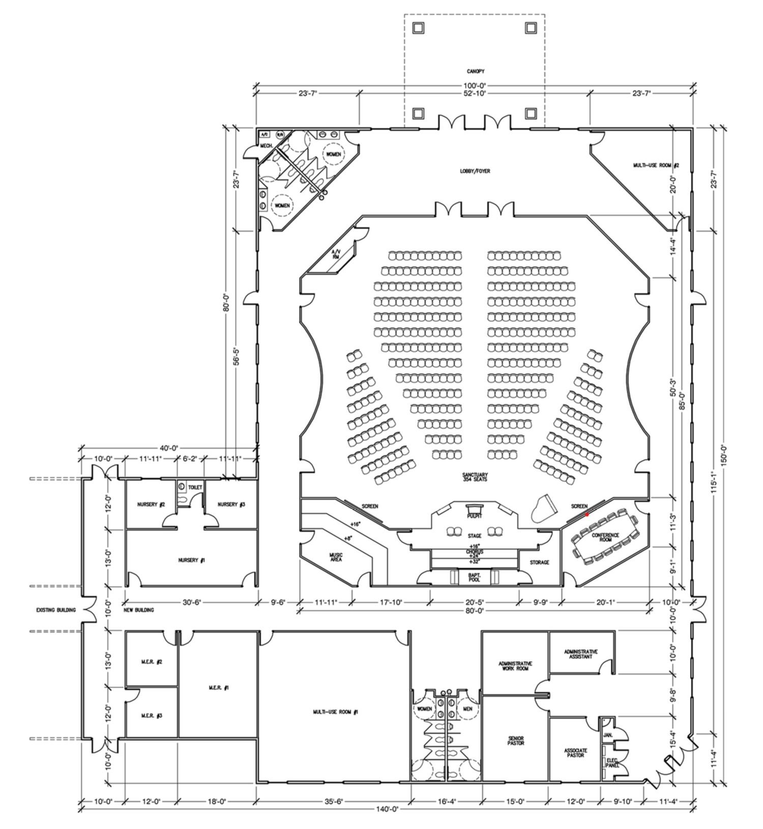 Church Designs And Plans