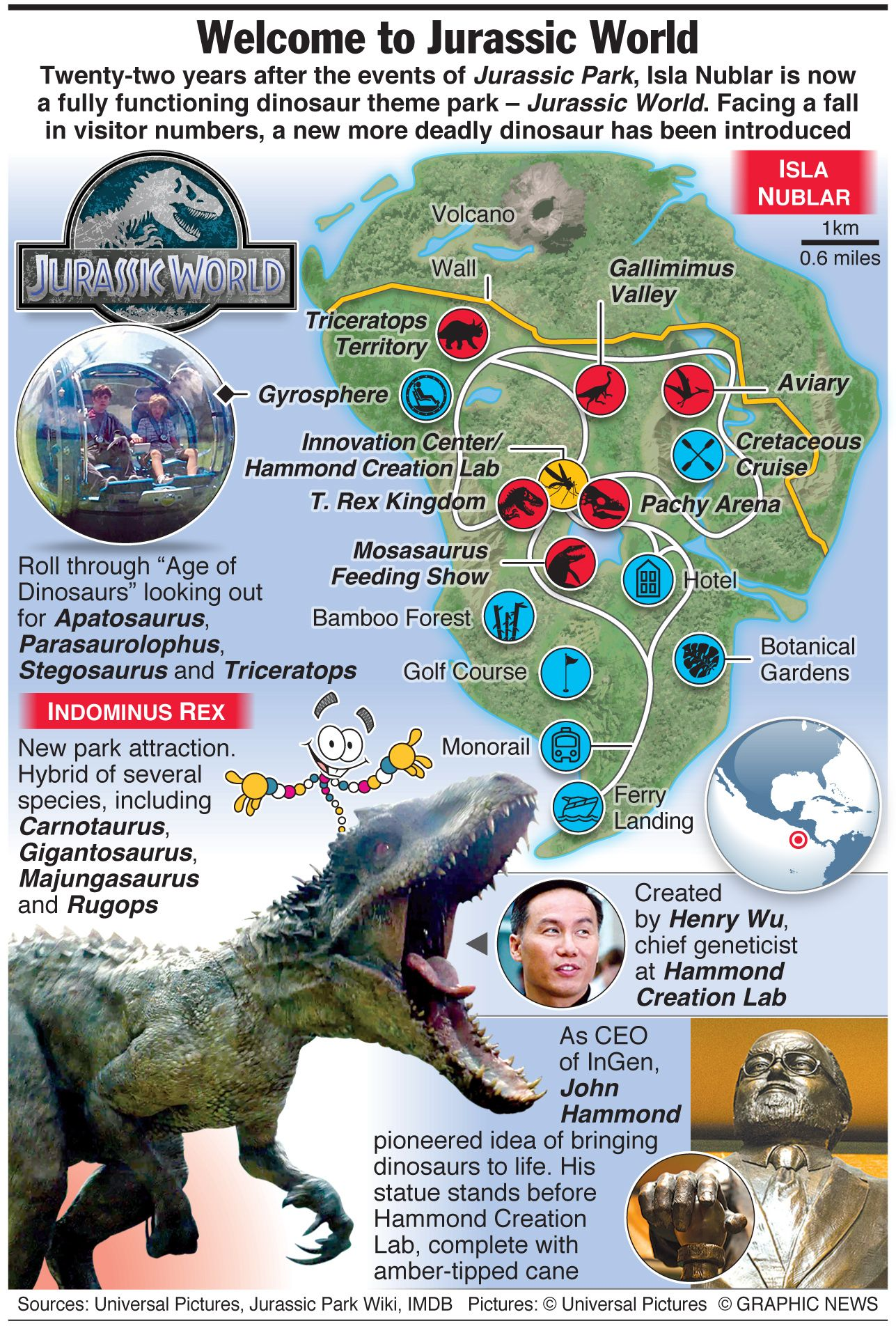 Map of Isla Nublar - Jurassic World (2015) (1287×1904) | Jurassic ...