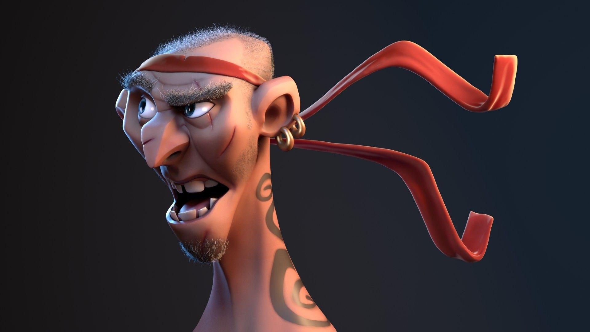 ArtStation - Pirate, Magdy Kovo