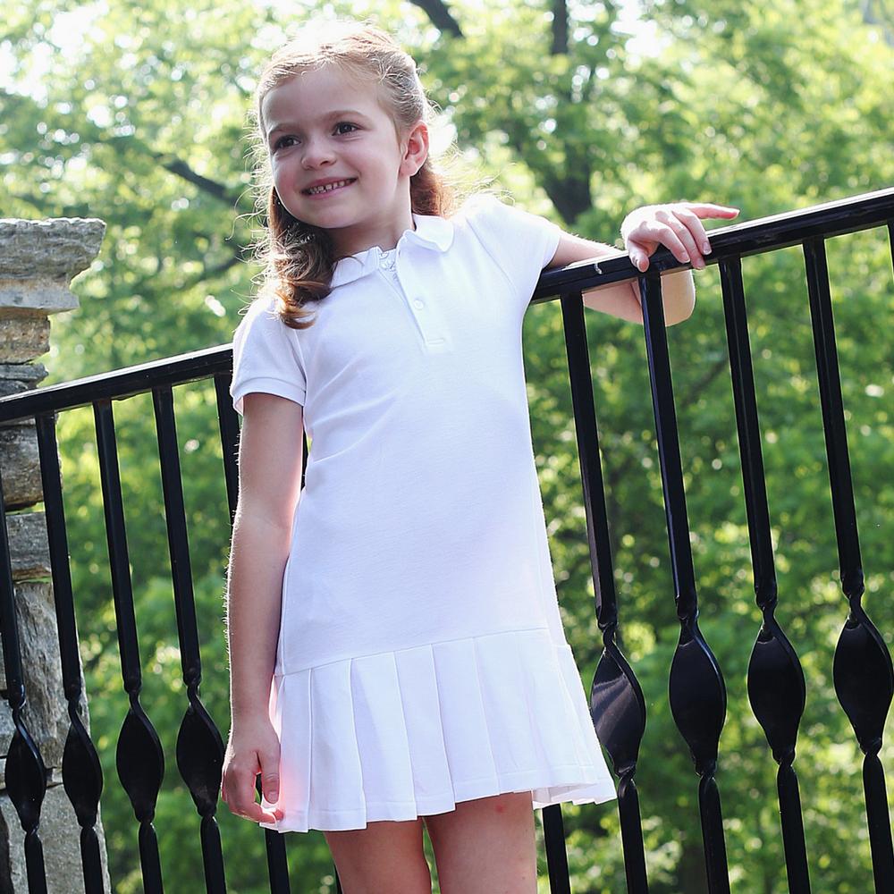 Girl 39 S Tennis Dress White Classic Luxury Baby And Children 39 S Clothing Kelseymaclean Com Girls Tennis Dress Toddler Girl Dresses Tennis Dress