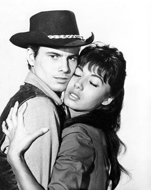 Horst Buchholz and Rosenda Monteros in The Magnificent ...