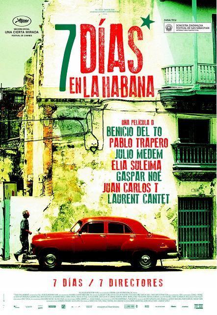 Maiatza. Película dividida en siete cortos. El objetivo de los directores es captar la energía y vitalidad que hace de La Habana. Cada capítulo muestra la vida cotidiana de distintos personajes durante un día de la semana. Alejada de los tópicos turísticos, pretende reflejar el alma de esta ciudad a través de los distintos barrios, ambientes, generaciones y culturas. Lugares representativos de La Habana, como el Hotel Nacional, el Malecón, etc. son el escenario común de algunos de los…