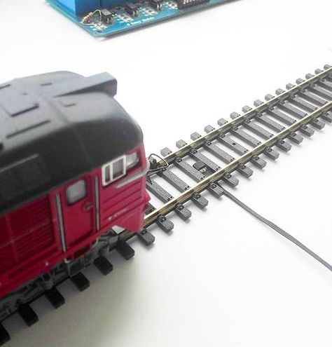Using IR & Hall Type Sensors for Train Detection - Arduino Project