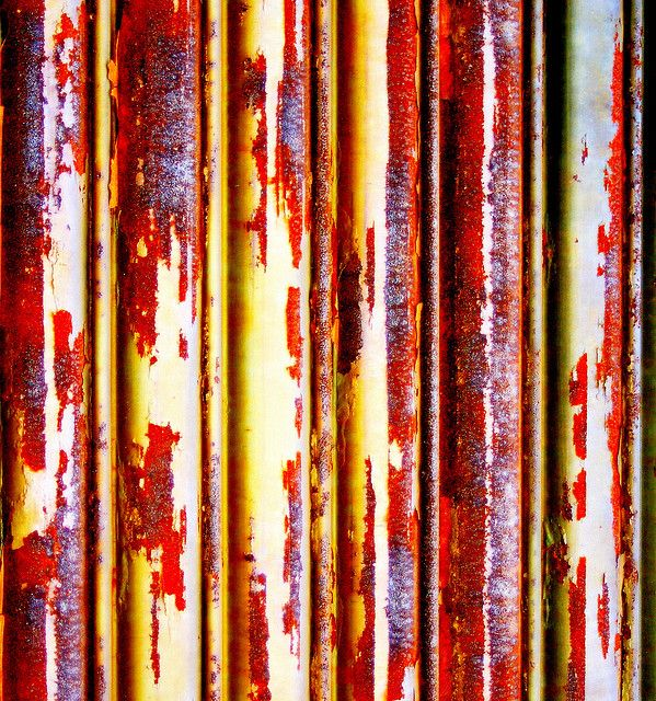 colors rust lines