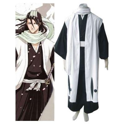 Bleach 6th Division Captain Kuchiki Byakuya Halloween Cosplay Costume For  Sale