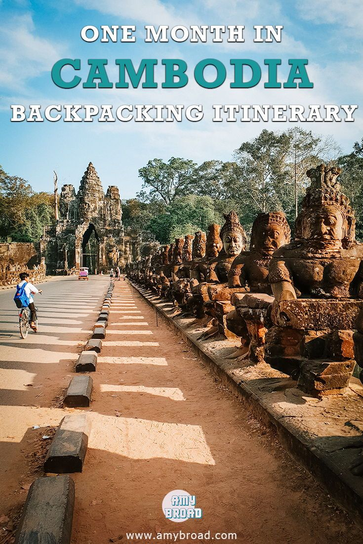One Month in Cambodia, The Ultimate Backpacking Itinerary - Cambodia is a must if you are travelling to Southeast Asia! Not only is it home to the famous Angkor Wat but also to beautiful islands. My blog contains all the information you need on travel itineraries, recommendations, accommodation and transport. For all your backpacking travel needs!