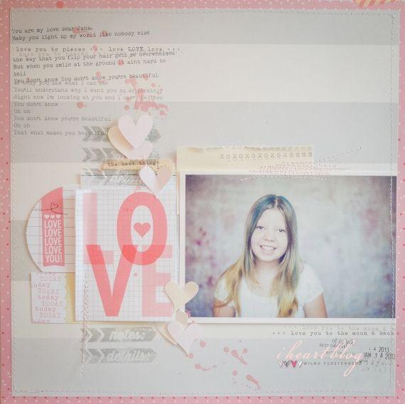 L O V E by Wilna for Elle's Studio