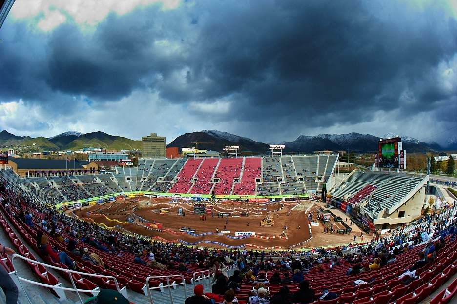 Supercross, Rice-Eccles Stadium - Salt Lake City, UT | Supercross ...