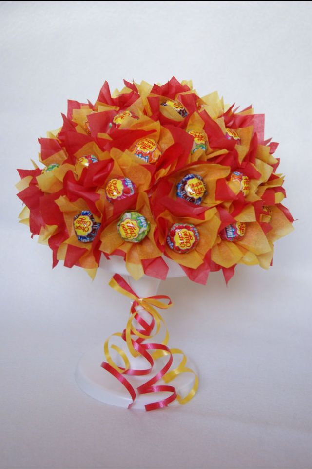 Lolly tree | candy bouquets | Pinterest | Trees, Candy bouquet and ...