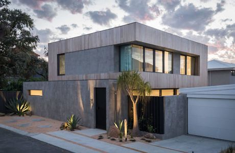 Abbett house by leanhaus cool designs modern design story houses also home rh pinterest