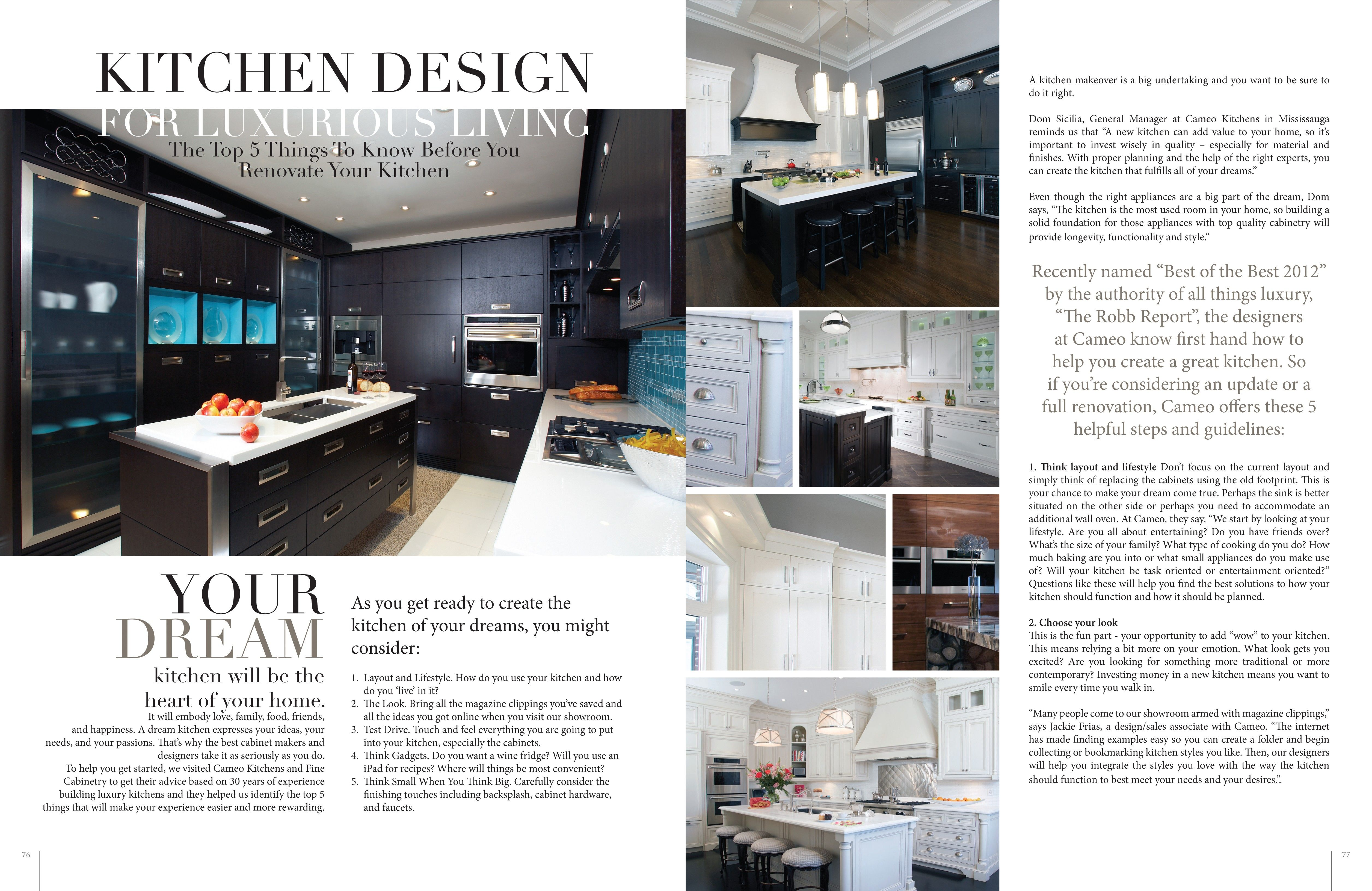 kitchen style design magazine