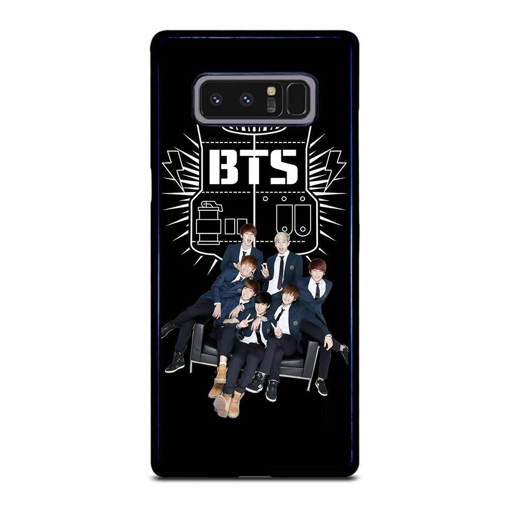 BANGTAN BOYS BTS FAMILY Samsung Galaxy Note 8 Case - Casefine