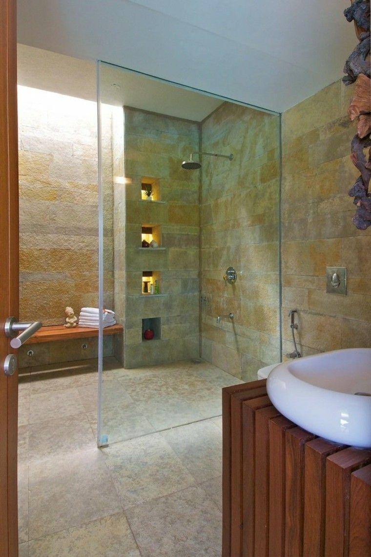 Baos modernos con ducha cincuenta ideas estupendas Mampara