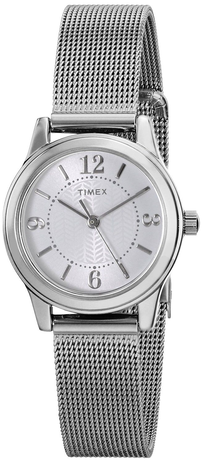 Timex Women's T2P4579J Main Street Modern Minis Silver-Tone Watch ** Find out more about the great watch at the image link.