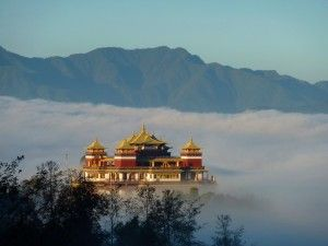 Amitabha Temple and Retreat Center, Kathmandu. Nepal.