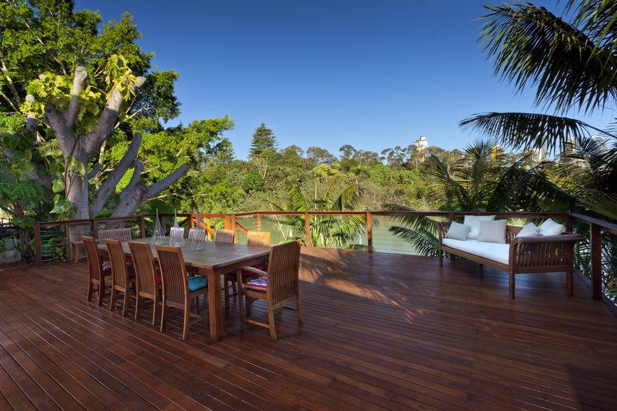 superb waterfront deck designs #4: 100+ Wooden Deck Design Ideas (PHOTOS OF DESIGNS, SHAPES u0026 SIZES)