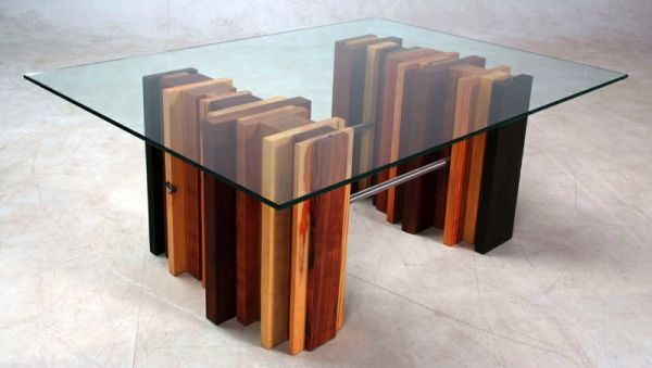 Scrap Wood Furniture elegant block table from scrap wood | greendiary :  greendiary
