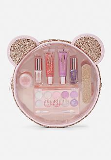 rose gold critter beauty kit  kids makeup