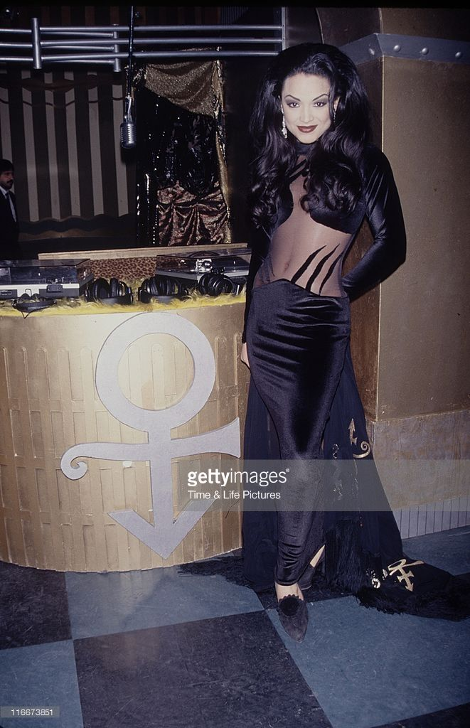 Mayte garcia the future wife of singer and musician prince for 1992 house music