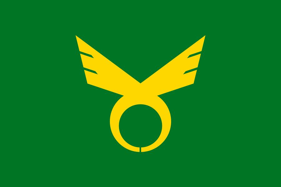 Flag of Kashihara, Nara