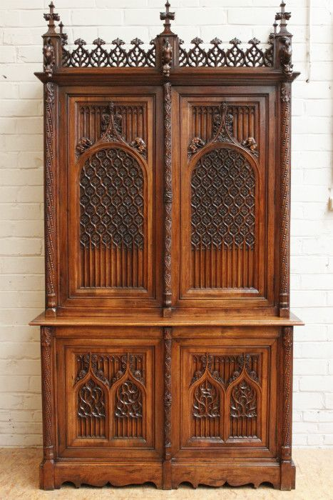 Gothic Furniture Meval, Gothic Cabinet Furniture