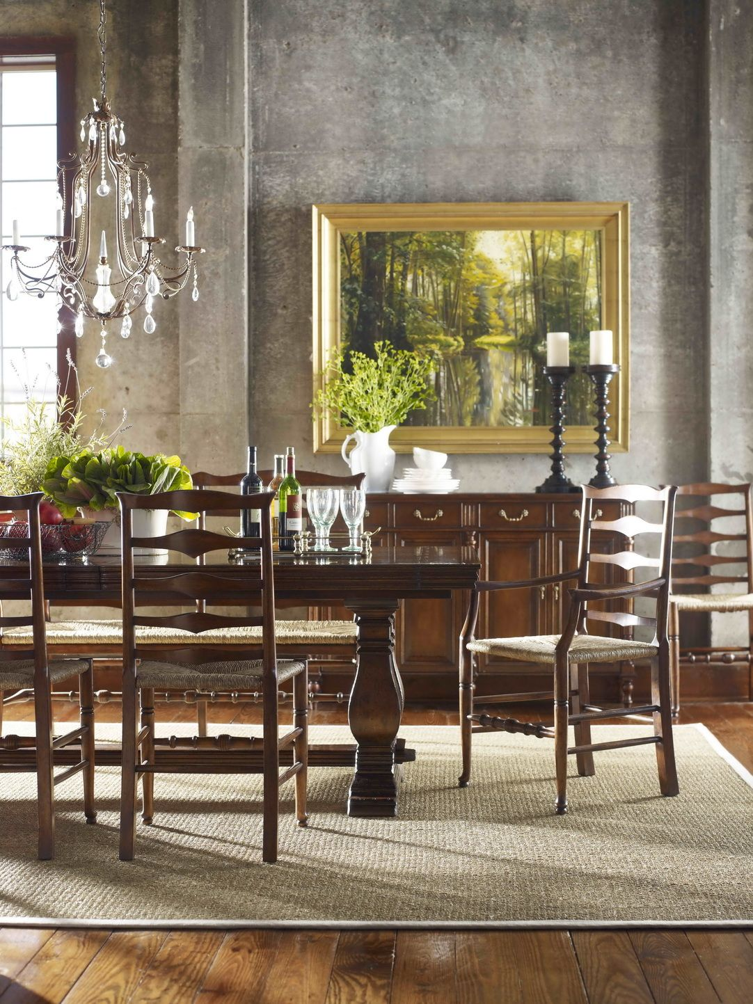 Jonathan Charles Fine Furniture Country Farmhouse