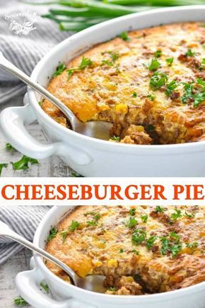 Easy Cheeseburger Pie images
