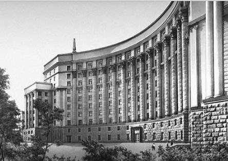 Government of Ukraine Building, Ivan Fomin