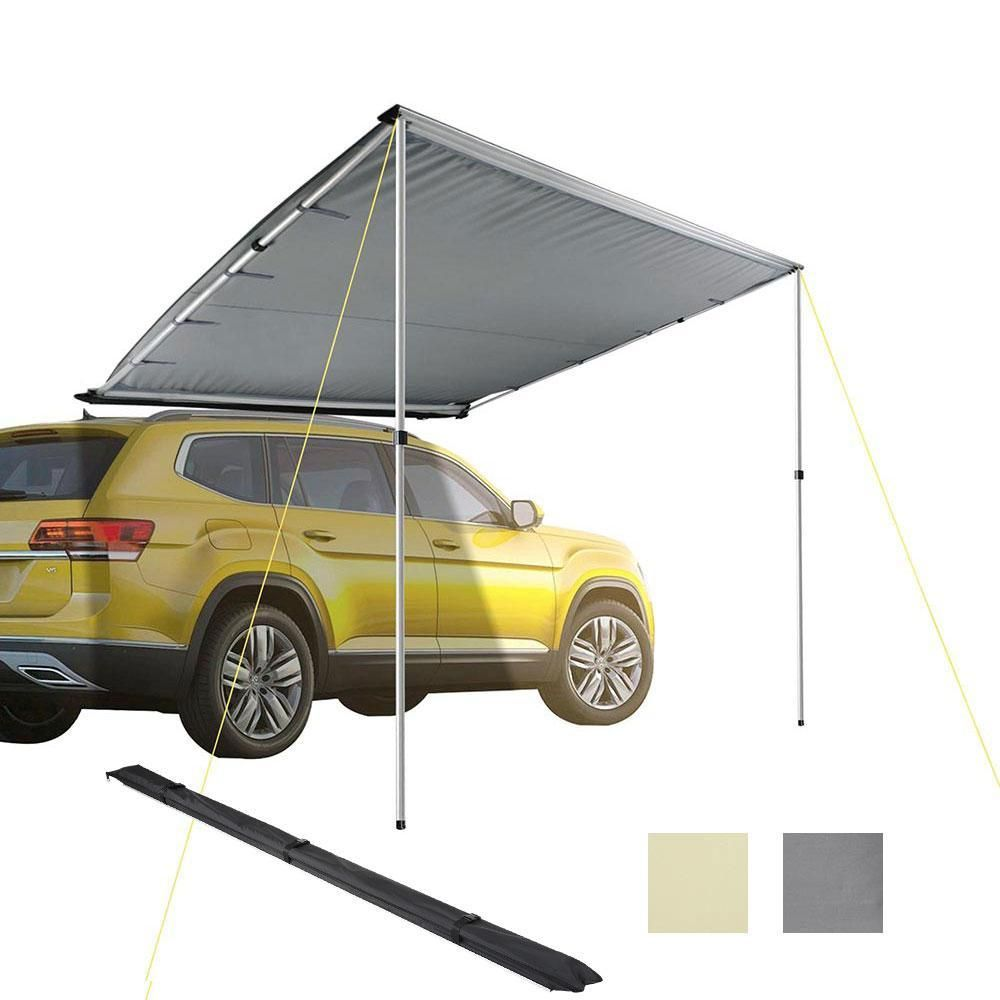 Thelashop Retractable Awning 7 7 X 8 2 Car Side Rooftop Shade Car Tent Tent Awning Car Awnings